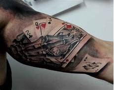 Pin By Max On Skull Card Tattoos Card