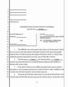 qualified domestic relations order procedures conocophillips store