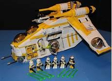 lego starwars lego 174 star wars 75021 custom phase i 327th star corps republic gunship crew ebay