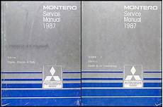 free service manuals online 1987 mitsubishi tredia on board diagnostic system 1987 mitsubishi montero repair shop manual set original