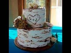 rustic wedding cakes youtube
