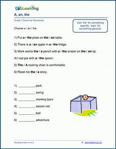 grammar worksheet for grade 1 25174 other parts of speech worksheets for grade 1 k5 learning