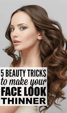 5 beauty tricks to make your face look thinner