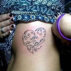 30 beautifully touching tattoos of hearts with names