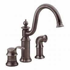moen showhouse kitchen faucet moen showhouse s711orb waterhill single handle kitchen faucet with matching side spray