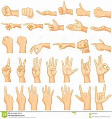 Gestures Stock Vector Illustration Of Concept