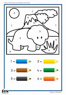 free simple color by number worksheets 16325 17 best images about dino s kleurplaten on coloring pictures and gel pens