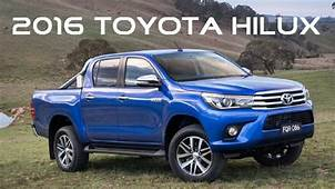 Toyota HiLux 2016 Revealed  Hilux