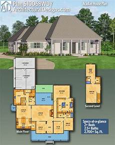 acadiana house plans plan 510068wdy acadian house plan with second level bonus