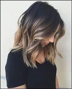 Balayage Haar Farbe Ideen F 252 R Schulterlanges Haar