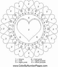 color by number worksheets hearts 16061 valentines day color by number page coloring pages coloring valentines