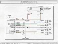 1999 dodge ram 2500 radio wiring diagram wiring