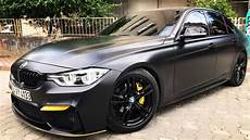 Bmw M3 F30 - bmw f30 m3 kit mat satin black kaplama mat satin