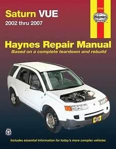 small engine maintenance and repair 2004 saturn vue electronic valve timing saturn vue haynes repair manual 2002 2007 hay87040