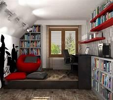 Jugendzimmer Ideen Deko Junge Dachschr 228 Ge Musikfan Die