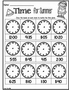 time worksheets grade 7 3008 time for summer freebie 2nd grade math worksheets grade math math literacy