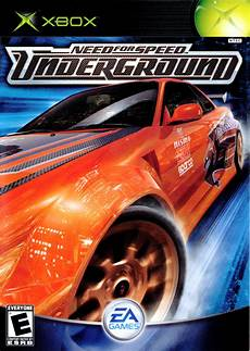 need for speed underground for xbox 2003 mobygames