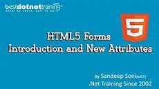 html5 tutorial 3 form attributes youtube