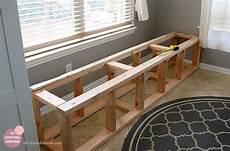 kitchen storage bench plans kitchen nook makeover adding a bench