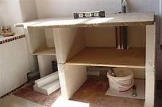 faire meuble de salle de bain meuble de salle de bain en construction bathroom diy
