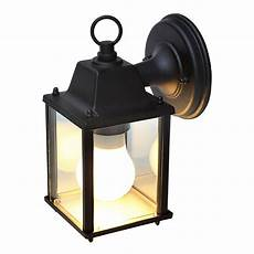blooma sollies black mains powered external wall light departments diy at b q