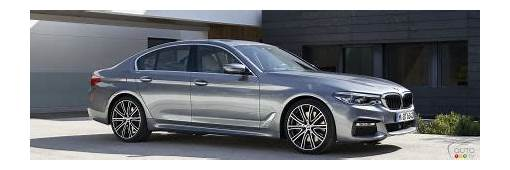 All New BMW 5 Series Unveiled We Have Pics And A Video