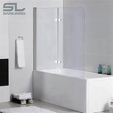 Duschtrennwand Badewanne Glas - 2teilige glas badewanne aufsatz faltwand duschwand