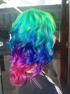 bright hair colors on pinterest bright hair rainbow hair and 30 rainbow colored hairstyles to try pretty designs