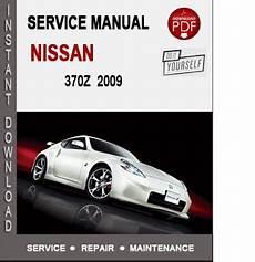 download car manuals pdf free 2009 nissan 370z nissan 370z 2009 service repair manual download