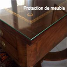 plaque en verre sur mesure protection de meuble par une plaque de verre sur mesure