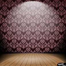 Interior Wallpaper Background Vector Free Vector In