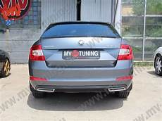 Mv Tuning Covers Imitating Exhaust For Skoda Octavia A7