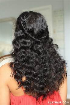 easy hairstyles for wavy hair hairstyles for