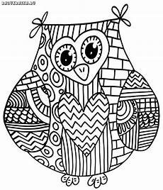 335 best owl coloring pages images on owls