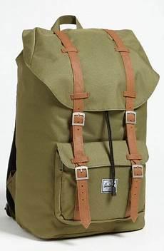 herschel supply co america backpack in green for