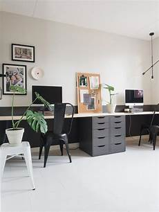 small home office furniture sets scandinavische werkkamer met lambrisering flexa industrial