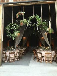 rustic barn wedding reception entrance decoration ideas