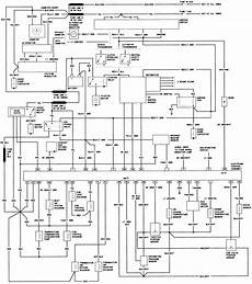 1984 Ford Bronco Wiring Schematic by Bronco Ii Wiring Diagrams Bronco Ii Corral