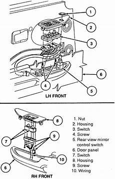 98 mercury grand marquis engine diagram repair guides interior door locks autozone