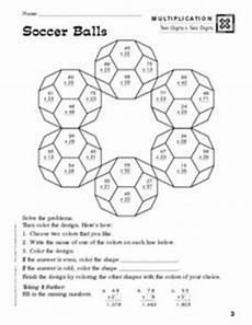 sports balls worksheets 15755 soccer balls multiplication worksheet for 3rd 5th grade lesson planet