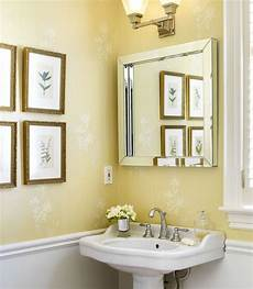 Yellow Half Bathroom Ideas by 25 Best Images About Powder Room On