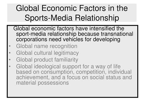 Relationship Between Culture And Economy