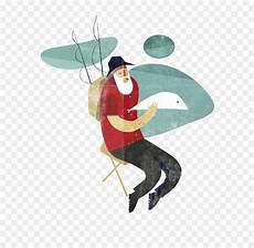 Gambar Ilustrasi Memancing Ikan Iluszi