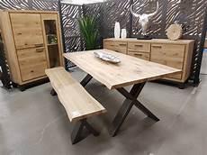 Table Rectangulaire 2 60m X 1m Bois Naturel Et Metal Type