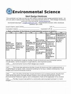 environmental science worksheets boy scouts 12141 environmental science merit badge worksheets environmental science merit badge