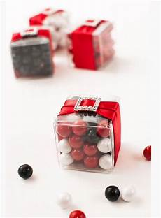 black white red candy favor wedding wedding favors