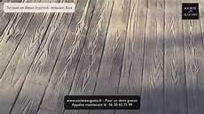 Terrasse En B 233 Ton Imprim 233 Imitation Bois Les 233 De