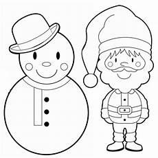 Weihnachts Ausmalbilder Einfach Kostenlose Malvorlage Weihnachten Schneemann Und