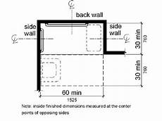 How Much Do Apartment Security Guards Make by A Plan View Shows The Shower Compartment Is 30 Inches 760