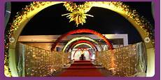 a wedding planner indian wedding hall and mandap entrance decorations